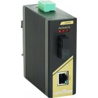 Buy cheap 1 fast ethernet 1 fiber industrial network switch from wholesalers