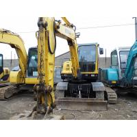 Wholesale Used HYUNDAI R60W-7 mini Wheel Excavator For Sale from china suppliers