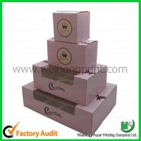 Buy cheap Cupcake boxes cheap PVC winodw and insert Custom-designed from wholesalers