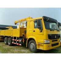 Wholesale Hydraulic 16 T/16000KG  Arm Lorry Mounted Cranes / Knuckle Truck Crane SQ16ZK4Q in Red from china suppliers