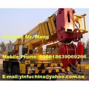 China 120T tadano truck/mobile hydraulic crane on sale