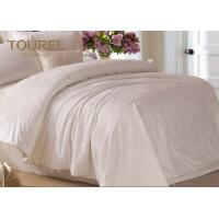 Wholesale Jacquard Cotton Hotel Quality Bed Linen / Bed Sheet / Hotel Bed Linen With Customized Logo from china suppliers
