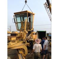 Wholesale Used CAT 140H Motor Grader Sold to Kenya Mombasa Port from china suppliers
