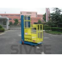 Quality Mobile Elevating Working Platform , 4.3m Semi - Electric Aerial Order Picker for sale