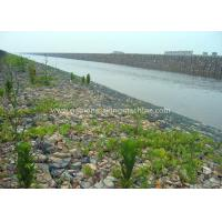 Wholesale Hexagonal Gabion Box 2x1x1m Size Gabion Wall Cages With Galvanized Wire / PVC Coated Wire from china suppliers