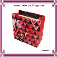 Wholesale Luxury custom paper shopping bag stand ME-BG022 from china suppliers