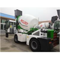 Wholesale Yuchai YCD4J22G Engine Self Propelled Concrete Mixer Drum Volume 5550 Liters from china suppliers
