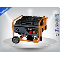 1.5 Kw / Kva Air - Cooled Diesel Portable Generator Set With Wheel Electric Starter for sale