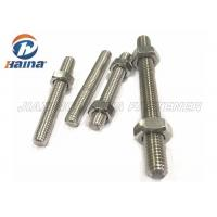 China A4-50 A4-70 A4-80 316L 304 Stainless Steel Fully Threaded Rod Stud Bar on sale