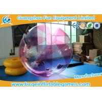 Wholesale Striped Color TPU Inflatable Water Walking Ball Walk On Water Ball With Logo Printing from china suppliers