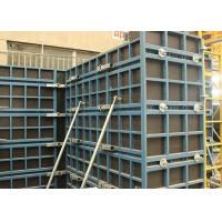 Wholesale Concrete Wall Steel Frame Formwork Highly Efficient With Low Labour Cost from china suppliers