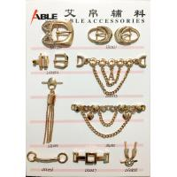 Buy cheap Custom Factory Price Nickle Free Metal Zinc Alloy Shoe Chain Buckle For Men from wholesalers