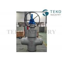 Wholesale High Pressure Double Disc Through Conduit Gate Valve Self Relieving Function For Petroleum from china suppliers
