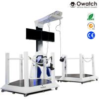 Wholesale VR Walking space platform 9d virtual shooting simulator for double players from china suppliers