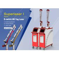 China Big Spot 1064nm Q Switch Nd Yag Laser Tattoo Removal / Skin Rejuvenation Machine on sale