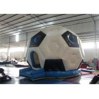 Wholesale Kids Double Layers Blow Up / Inflatable Indoor Bouncers With Football Shape from china suppliers
