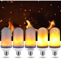 Wholesale LED Flame Bulb 5W flame bulb table LED flicker flame candle light bulb warm color led flame bulb for decroation from china suppliers