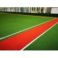 China Synthetic Grass Carpet Light Green Dark Green Color Customized Service for sale
