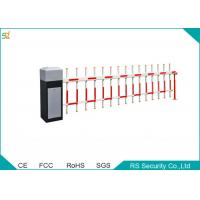 Quality RFID Automated  Fence Boom Barrier Gate Remote Control Metal Boom Door for sale