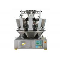 Buy cheap 1.6L Hopper 10 Heads Multihead Weighers, 65 Bags / Min Automatic Weigher from wholesalers