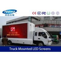 Wholesale Advertising P10 Vehicle Truck Mounted LED Screens Full Color , 6500cd/ ㎡ from china suppliers