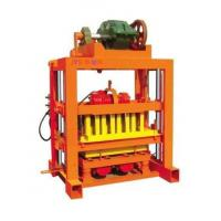 China High Efficiency Small Clay Brick Making Machine , Block Making Equipment on sale