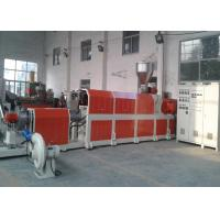 Pvc Pp Pet Waste Plastic Recycling Pelletizing Machine , Waste Plastic Extruder for sale
