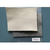 Wholesale Marshmallow 280gsm Needle Punched Non Woven Fabric Anti - Slip PVC Dots Coated from china suppliers