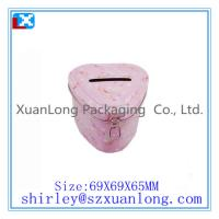 Wholesale heart shape coin tin can from china suppliers