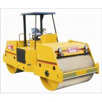 China hydraulic double drum vibratory road roller on sale