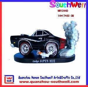 China polyresin car figurine on sale