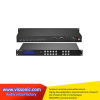 Wholesale Black Seamless Hdmi Switcher / UHD4Kx2K HDMI 4x4 Seamless Video Switcher from china suppliers