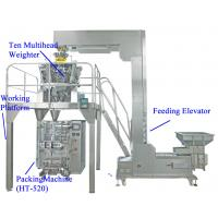 Wholesale Popcorn / Snack Food Packaging Equipment With Weigher / Workplatform , Stainless Steel from china suppliers