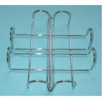Wholesale home free standing spiral design kitchen/toilet metal paper towel holder/rack from china suppliers