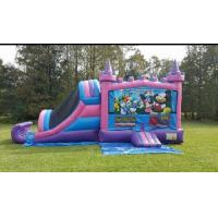 Wholesale Large Inflatable Combo Extreme EN14960 Dry Bounce House Combo from china suppliers
