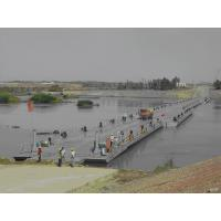 Wholesale Simple Structure Floating Pontoon Bridge Concrete Deck For Vehicles from china suppliers