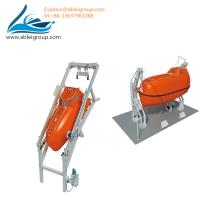 China Freefall Lifeboat 20 Persons and Davits ABS Certificate FRP Material for sale