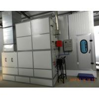 Wholesale Autobody Spraybooth Equipment with Riello Oil Burners and intake and exhaust fans from china suppliers