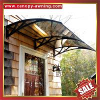 Buy cheap excellent house door window sun rain pc polycarbonate DIY awning awnings canopy from wholesalers
