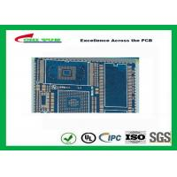 Wholesale PCB Fabrication And Assembly Printed Circuit Board Assemblies 6 Layer Blue Solder Mask from china suppliers