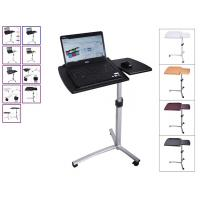 Rolling Angle Height Adjustable Laptop Desk , Over Bed Hospital Table Stand DX-BJ11 for sale