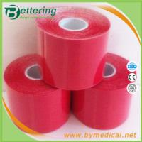 Wholesale Kinesio muscle tape 5cmX5m red colour from china suppliers