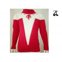 Wholesale 100% Cotton Girls Knit Sweater Eye Catching Colors Autumn Winter Customized Service from china suppliers