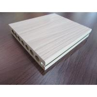 China Hollow Co-extrusion WPC Composite Decking Tiles Rotproof for Garden on sale