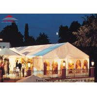 Wholesale White Aluminum Frame Big Structure Retail Tent for Weekend Fairs from china suppliers