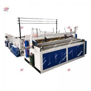 China 3 Phase 700gsm 200m/Min 1600mm Paper Slitter Rewinder on sale
