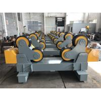 Buy cheap 20T Self Aligning Pipe Rollers Heavy Duty Pipe Turning Rolls Simple Structure from Wholesalers