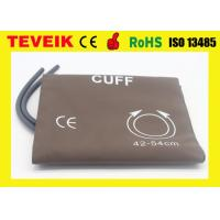 Wholesale Reusable Large Adult NIBP Cuff  For Patient Monitor , Double Tube / 34-43cm from china suppliers