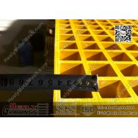 Wholesale 1.22 X 3.44m Fiberglass Reinforced Plastic Molded Grating | ABS Certificated from china suppliers