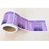 Wholesale Cream Bottle Adhesive Sticker Labels Heat Resistance Glue With Customized Size from china suppliers